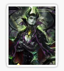 Anime male Maleficent  Sticker