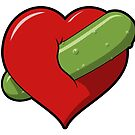 Pickle Heart by William Fehr