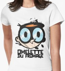 Du fromage Womens Fitted T-Shirt