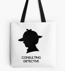 Consulting Detective Sherlock Shirt - Light Tote Bag