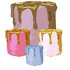 Cake Family by ohwhaleeatcake