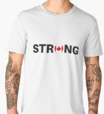 Strong Canada - Canada Proud Graphic Men's Premium T-Shirt