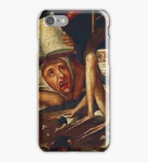 Hellish Creatures details from Hieronymus Bosch iPhone Case/Skin