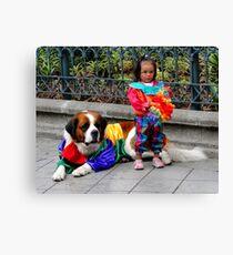 Cuenca Kids 124 Canvas Print