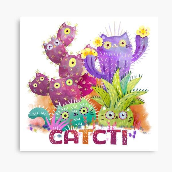 Catcti Canvas Print