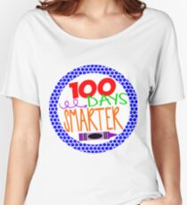 100 Days Smarter Women's Relaxed Fit T-Shirt