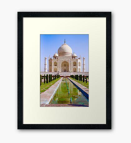 The Taj Framed Print