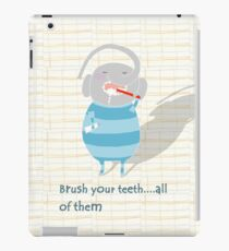 Brush your teeth iPad Case/Skin