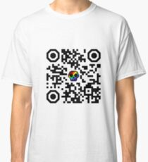 I hate QR codes Classic T-Shirt