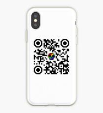 I hate QR codes iPhone Case