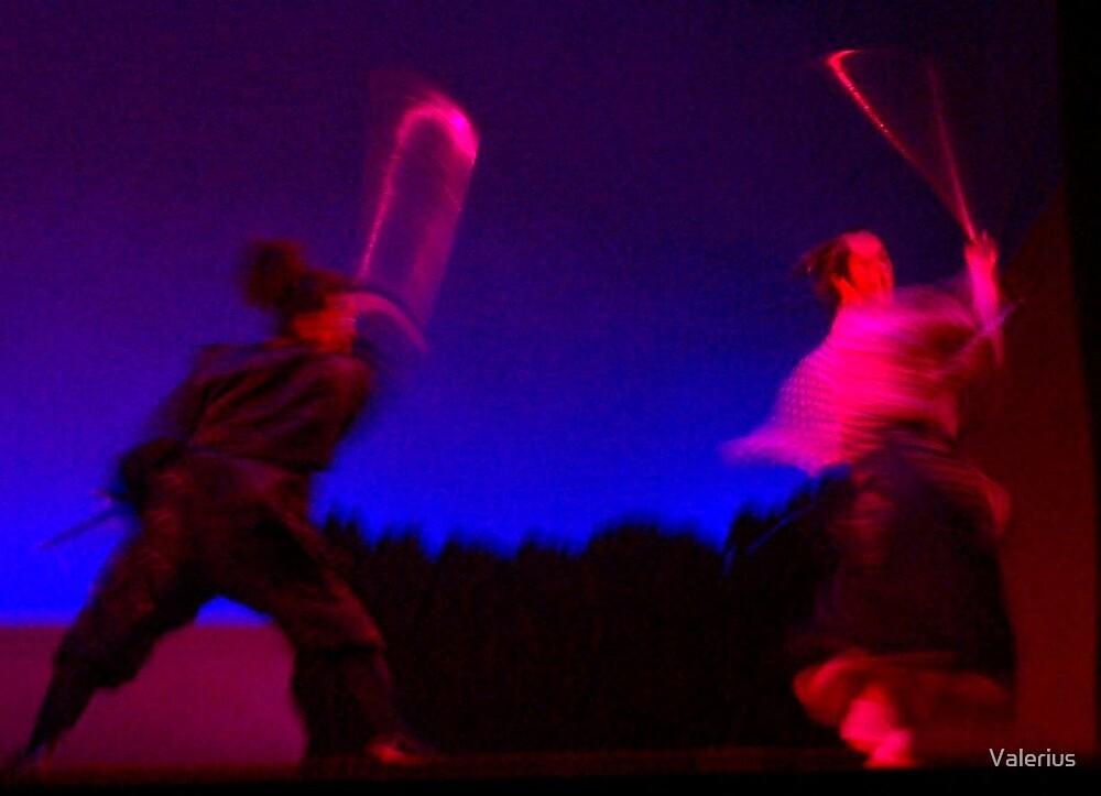 Samurai Swirl by Valerius