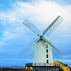 Blennerville Windmill, County Kerry, Ireland by DigitalandPhoto