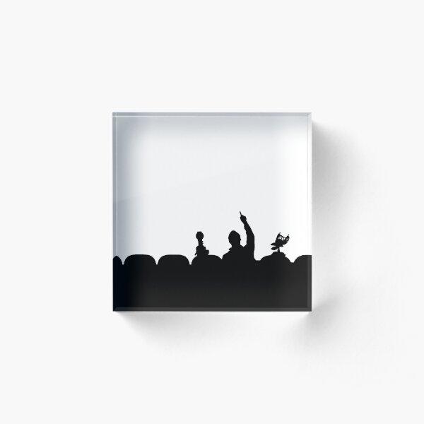 MST3K Silhouette Acrylic Block