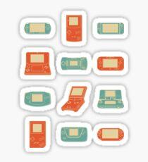 Handheld History Sticker
