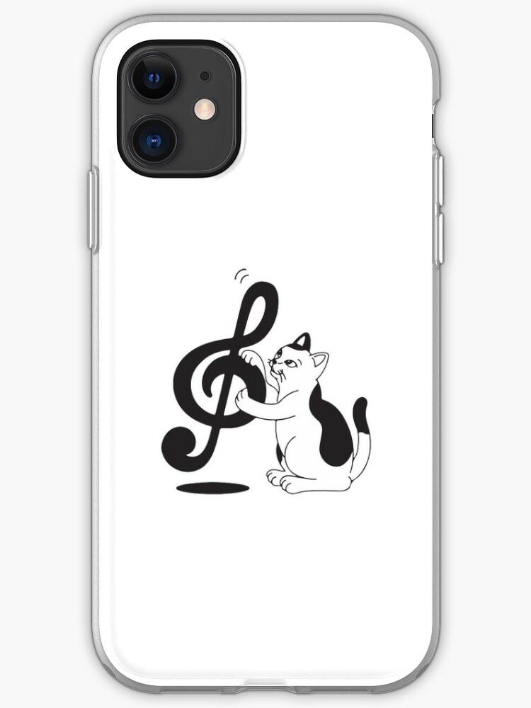 Music Lover Cat iPhone 11 case