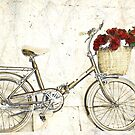 Bike and flowers by Mikeinbc1