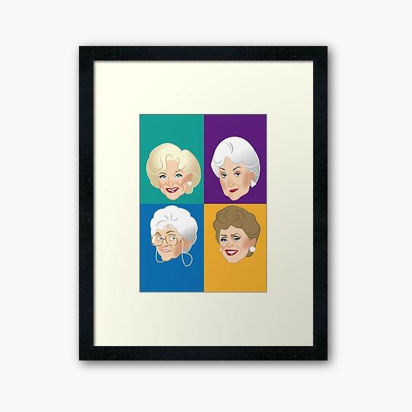 Pals & Confidants Framed Art Print