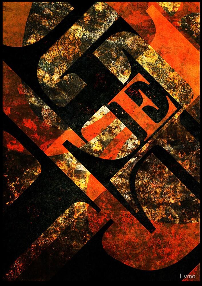 Typography E by Evan F.E. Lole