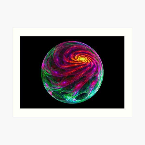 Celestial Cyclone Art Print