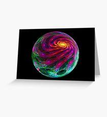 Celestial Cyclone Greeting Card