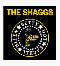 The Shaggs - Ramones style Photographic Print