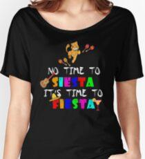 Cinco De Mayo TShirt Funny Cat Women's Relaxed Fit T-Shirt