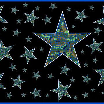 Camo Stars at Night by AirbrushedArt