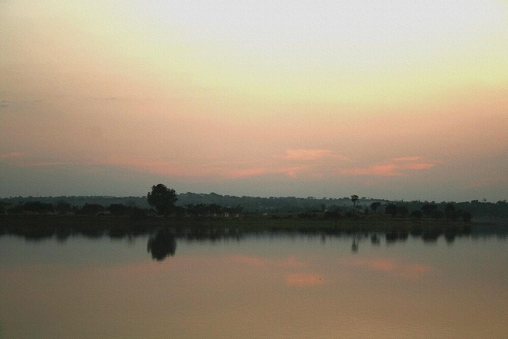 Lake- Evening View by lyon2007