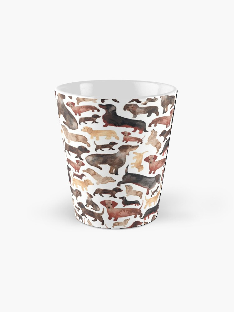 Alternate view of Dachshunds or Sausage Dogs Mug