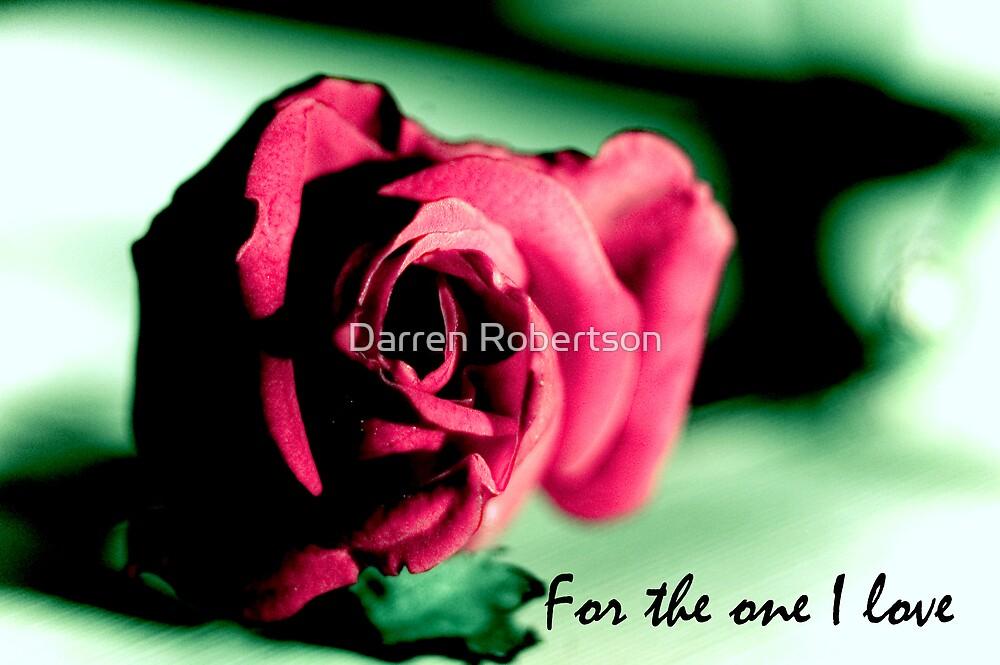 Valentines card 1 by Darren Robertson