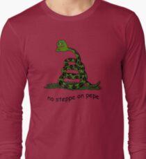 No Steppe On Pepe Langarmshirt