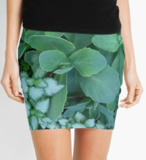 Green Leaves - Photo by REKHA Mini Skirt
