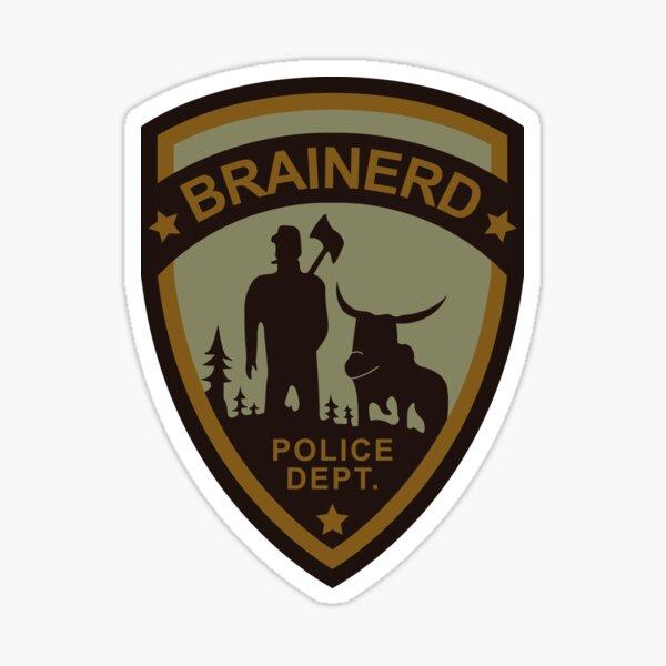 Brainerd Police Department - Fargo (1996) Sticker