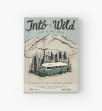 Into The Wild Illustrated Film Poster Hardcover Journal