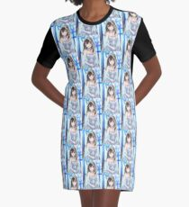 Wedding anime girl Graphic T-Shirt Dress