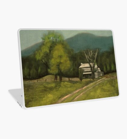 PHILIP'S PLACE, Pastel Painting, for prints and products Laptop Skin