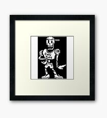 Cool Dude Papyrus Framed Print