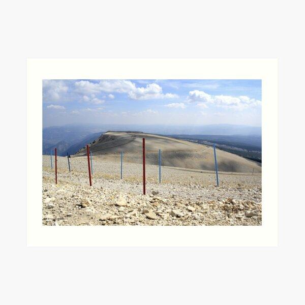 Mont Ventoux Kunstdruck