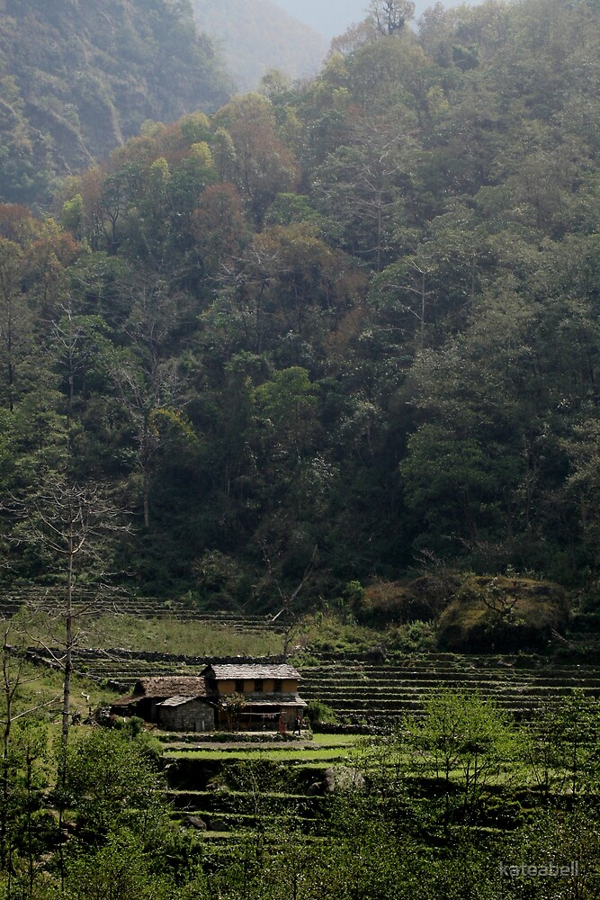 A quiet place- Nepal by kateabell