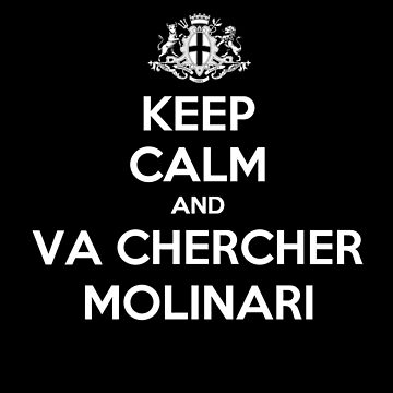 Keep Calm Molinari Marseille by Udezigns