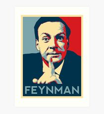 Richard P. Feynman, Theoretical Physicist Art Print