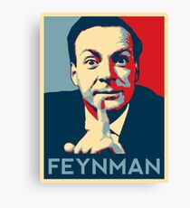 Richard P. Feynman, Theoretical Physicist Canvas Print