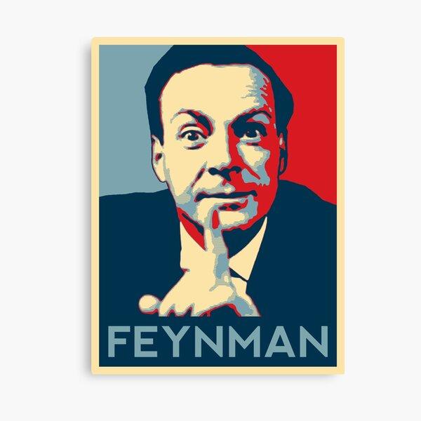 Richard P. Feynman, físico teórico Lienzo