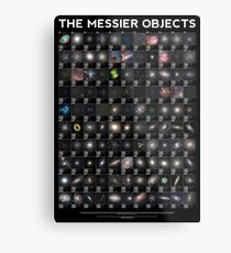 The Messier Objects Metal Print