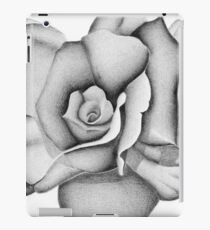 The First Flower (Tonal Drawing) iPad Case/Skin