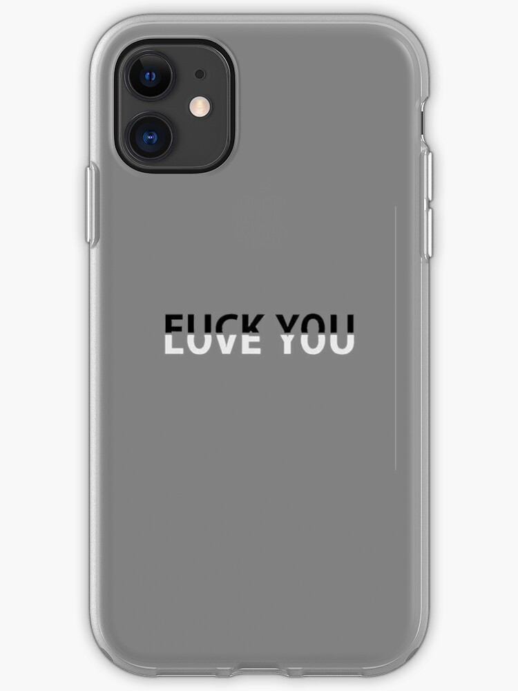 cover iphone fuck you