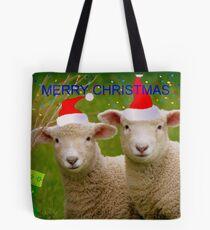 Merry Christmas - Lambs - NZ Tote Bag