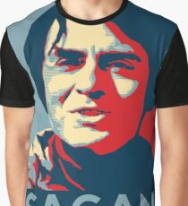 Carl Sagan Graphic T-Shirt