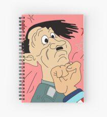 I Punch Nazis Spiral Notebook
