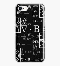 Maxwell's Equations iPhone Case/Skin